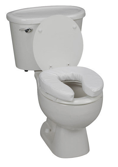 "Buy 2"" Vinyl Padded Toilet Seat Cushion online used to treat Raised Toilet Seats - Medical Conditions"