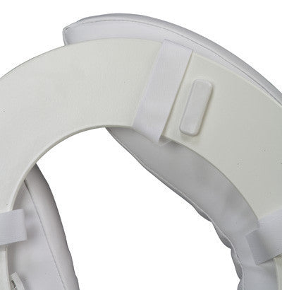 "2"" Vinyl Padded Toilet Seat Cushion - Raised Toilet Seats - Mountainside Medical Equipment"