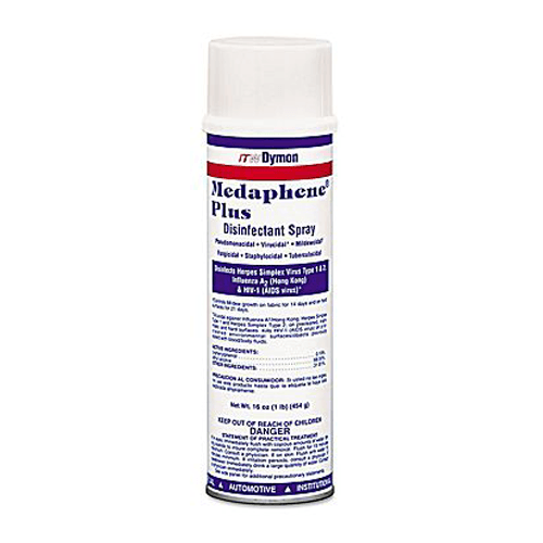 Dymon Medaphene Plus Disinfectant Spray, 20 oz