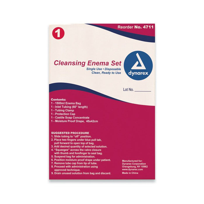 Buy Cleansing Enema Set Bag online used to treat Enema Set - Medical Conditions