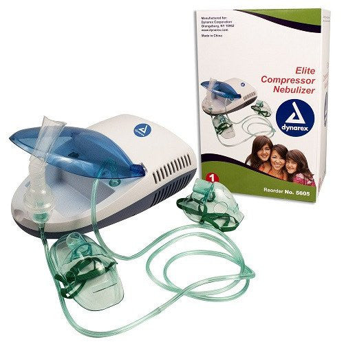 Buy Elite Nebulizer Machine with Mask & Mouthpiece Included used for Nebulizer Machines by Dynarex