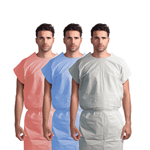 Patient Modesty Examination Gown, Universal Size - Exam Gowns, Capes, Etc. - Mountainside Medical Equipment