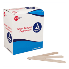 Buy Junior Wooden Tongue Depressors 100/Box online used to treat Pediatric Oral Examination - Medical Conditions