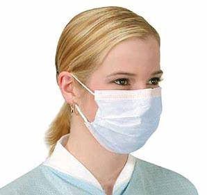 Buy Earloop Face Masks, Light Blue 50/Box online used to treat Face Masks - Medical Conditions