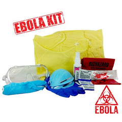 Ebola Virus Protection Kit, Extra Large Size for Isolation Supplies by Mountainside Medical Equipment | Medical Supplies