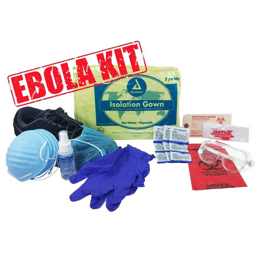 Buy Ebola Virus Protection Kit online used to treat Isolation Supplies - Medical Conditions