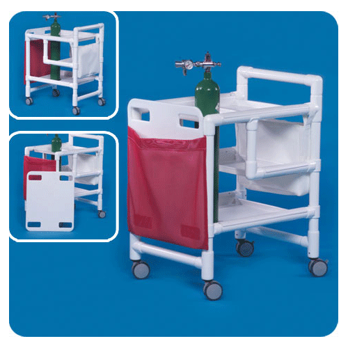 PVC Emergency Cart - Medical Furniture - Mountainside Medical Equipment