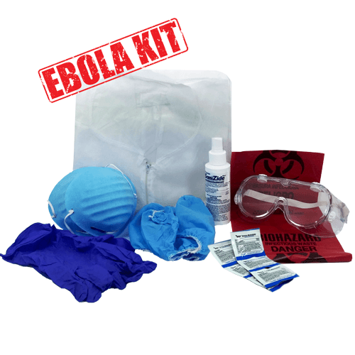 Personal Ebola Virus Protection Kit for Isolation Supplies by Mountainside Medical Equipment | Medical Supplies