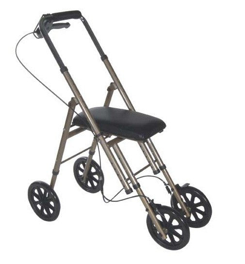 Indoor Outdoor Folding Knee Walker - Rollators and Walkers - Mountainside Medical Equipment