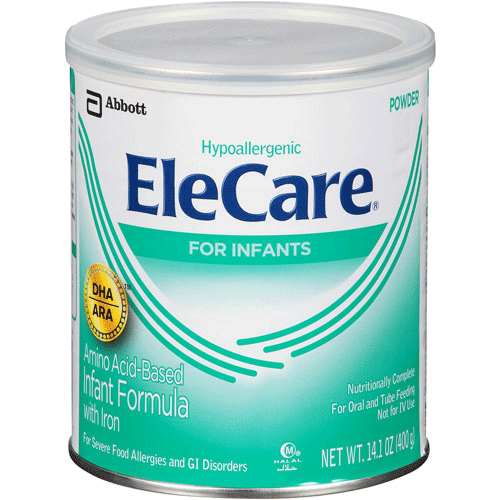 Elecare Amino Acid Nutritional Powder Formula for Infants and Children