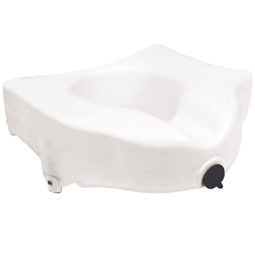Locking Raised Toilet Seat without Arms