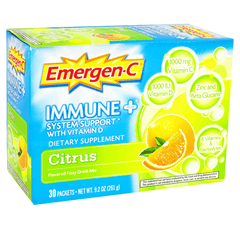 Buy Emergen-C Immune System Support with Vitamin D Citrus used for Vitamins, Minerals & Supplements by Pfizer