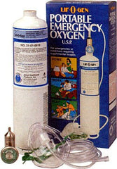 Buy Portable Emergency Oxygen Tank Kit (Single Pack) online used to treat Emergency Oxygen - Medical Conditions