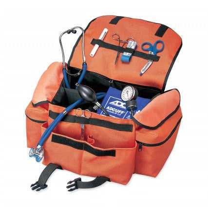 EMT First Responder Supplies Bag, Orange