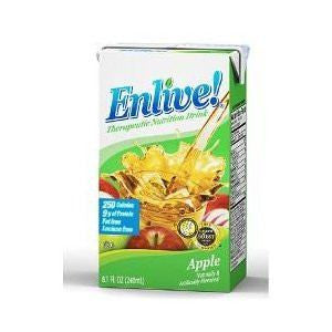 Buy Enlive Nutritional Drink Apple 8 oz 27/Case online used to treat Nutritional Products - Medical Conditions