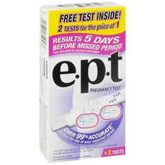 Buy EPT Pregnancy Test used for Testing Kits by Johnson & Johnson