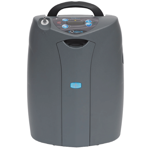 Buy eQuinox Transportable Oxygen Concentrator with autoSAT online used to treat Oxygen Concentrators - Medical Conditions