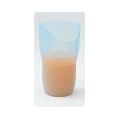Buy Ergonomic Nosey Cut-Out Cup by Patterson Medical from a SDVOSB | Dining Aids