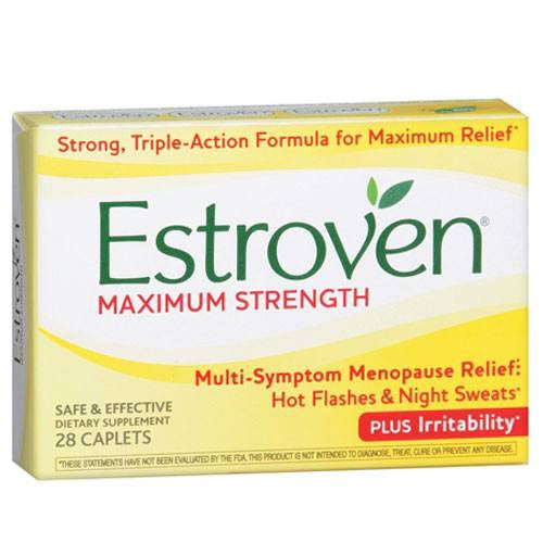 Buy Estroven Maximum Strength 28 Caplets by I-Health from a SDVOSB | Menopause Relief