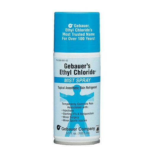 Ethyl Chloride Skin Refrigerant Mist Spray (Topical Anesthetic)