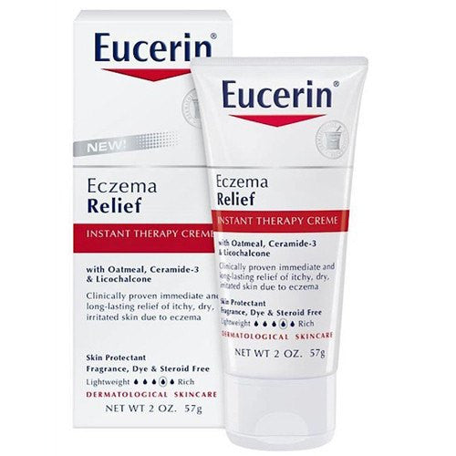 Eucerin Eczema Relief Instant Therapy Creme