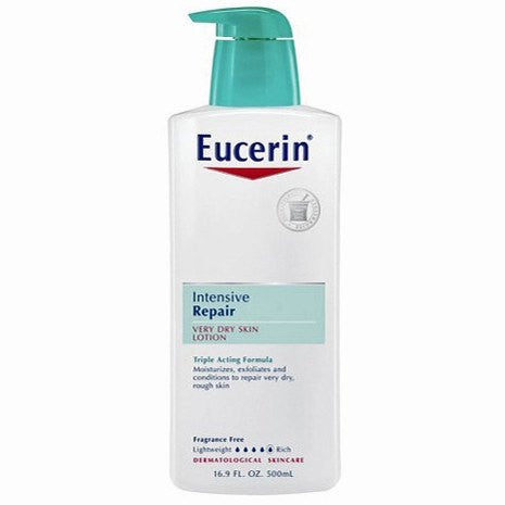 Buy Eucerin Plus Intensive Repair Dry Skin Lotion 8.4 oz online used to treat Dry Skin Relief Lotion - Medical Conditions