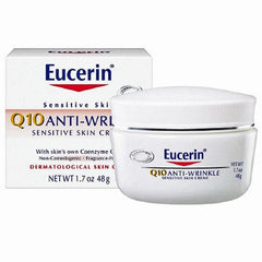 Eucerin Q10 Anti-Wrinkle Sensitive Skin Cream for Beauty Products by Beiersdorf | Medical Supplies