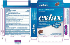 Buy Ex-Lax Chocolate Stimulant Laxative 24 Pieces by Novartis Consumer Health | Home Medical Supplies Online