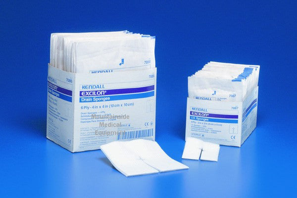 Excilon IV Sponges 2 x 2 Sterile - Ostomy Supplies - Mountainside Medical Equipment