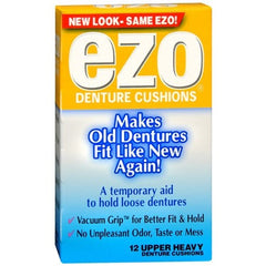 Buy Ezo Heavy Upper Denture Cushions by MedTech from a SDVOSB | Denture Care