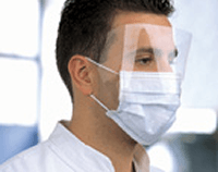 Buy Medical Face Mask with Shield by Dynarex wholesale bulk | Face Masks