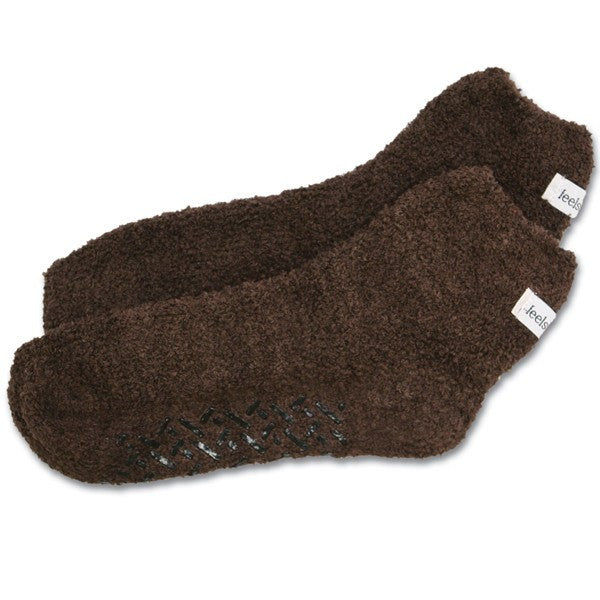 Feels Like Home Super Soft Slipper Socks - Non Skid Socks - Mountainside Medical Equipment