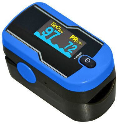 ReliaMed Digital Portable Fingertip Pulse Oximeter