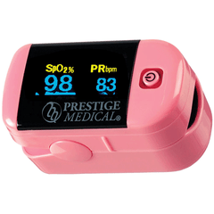 Buy Premium Fingertip Pulse Oximeter with Multi-Color Display Screen by Prestige Medical from a SDVOSB | Finger Pulse Oximeter