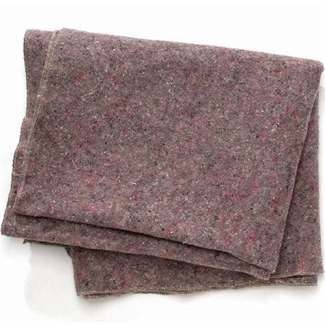 Emergency Fire Rescue Wool Blanket Grey 62 x 80