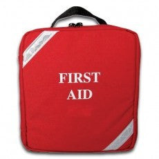 Back Pack First Aid Kit Red for First Aid Supplies by FieldTex | Medical Supplies
