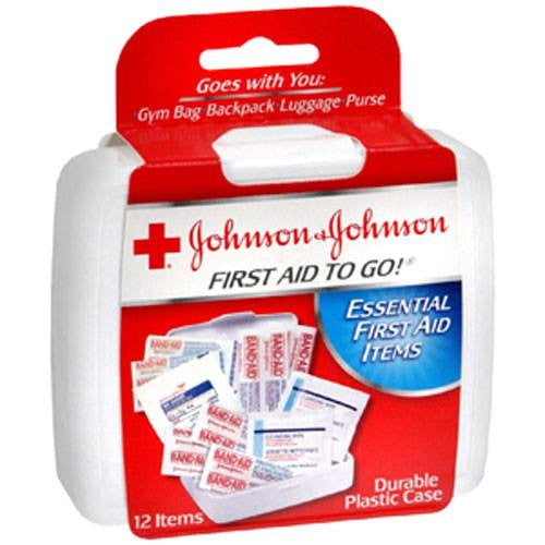 First Aid To Go First Aid Kit for First Aid Supplies by Johnson & Johnson | Medical Supplies