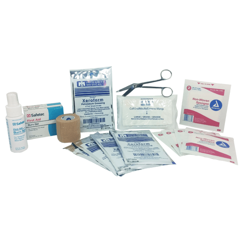 First-Aid Burn Treatment Kit