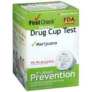 Buy First Check Home Drug Test Cup For Marijuana used for Drug Testing Supplies by First Check