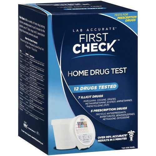 Buy First Check Home Drug Test online used to treat Drug Testing Supplies - Medical Conditions