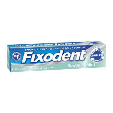 Fixodent Complete Denture Adhesive Cream for Denture Care by Procter & Gamble | Medical Supplies