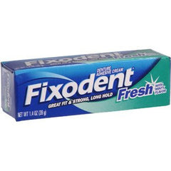 Buy Fixodent Fresh Denture Adhesive Cream online used to treat Personal Care & Hygiene - Medical Conditions