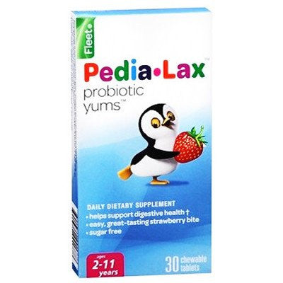Fleet Pedia Lax Probiotic Yums