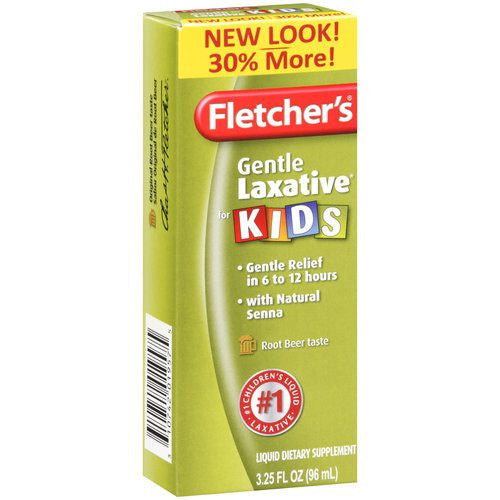 Fletchers Laxative for Kids with Root Beer Flavor 3.2 fl oz