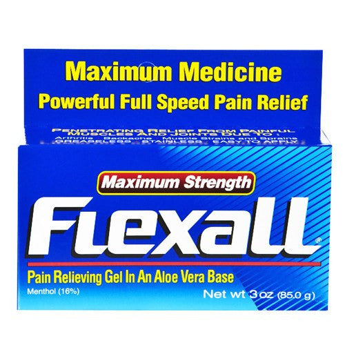 Flexall Pain Relieving Gel Maximum Strength with Aloe