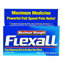 Flexall Pain Relieving Gel Maximum Strength with Aloe for Pain Management by Chattem | Medical Supplies