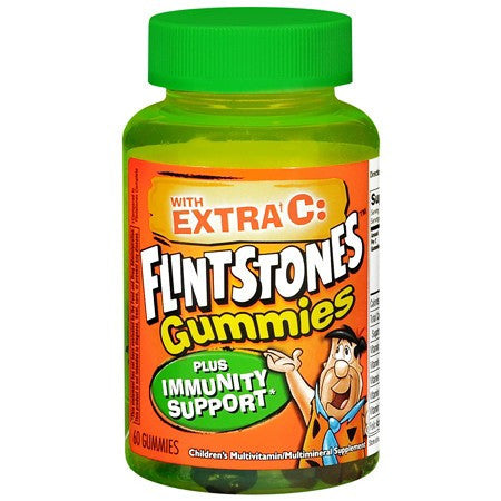 Buy Flintstones Gummies Multivitamin Supplement Immunity Support plus Vitamin C online used to treat Kids Multivitamin - Medical Conditions