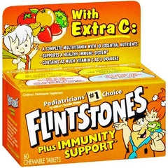 Flintstones Multivitamin Plus Immunity Support with Extra Vitamin C for Vitamins, Minerals & Supplements by Bayer Healthcare | Medical Supplies