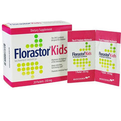 Buy Florastor Kids Probiotic Powder Packets with Coupon Code from Rochester Drug Sale - Mountainside Medical Equipment
