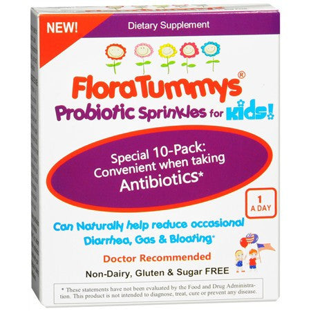 FloraTummys Probiotic Sprinkles for Kids